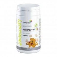 Life Impulse® MultiPlusVit KIDS - Multivitamine si calciu pentru copii