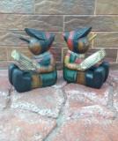 Deosebiti suporti din lemn pentru carti - Pinocchio !!!