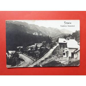 CARTE POSTALA SINAIA Vedere generala ×  1936