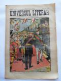 Ziarul Universul Literar ,5 August 1902 , Regele Carol I , cromolitografie