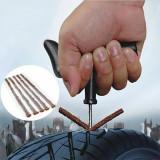 Kit scule reparatie pana roata tubeless vulcanizare anvelopa cheie cu snur
