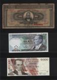 Cumpara ieftin Set #61 7 bancnote de colectie 1926 - 1999, Europa