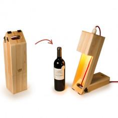 Cutie de vin-veioză 2în1, Rackpack