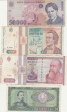 Romania Lot  9 Bancnote 1966-1996