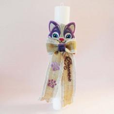 Lumanare botez – pisicuta
