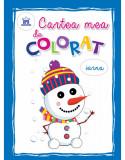 Cartea mea de colorat : Iarna