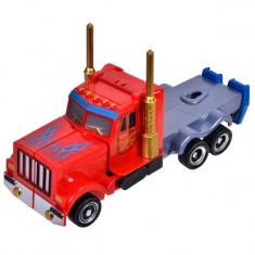 Robot de jucarie, model transforma in camion , multicolor, 31 cm