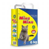 Asternut igienic, Miau Miau, Clasic, 6 kg