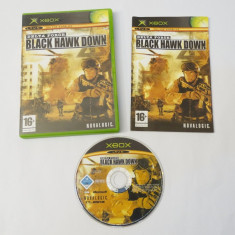 Joc Xbox Classic - Delta Force Black Hawk Down, Actiune, Toate varstele, Single player