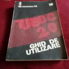GHID DE UTILIZARE TURBO C 2.0
