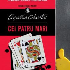 Cei patru mari seria Hercule Poirot Agatha Christie cod 9786063310485