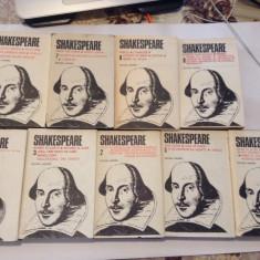 SHAKESPEARE OPERE  COMPLETE 9 VOLUME ,CARTONATE CU SUPRACOPERTI--P4