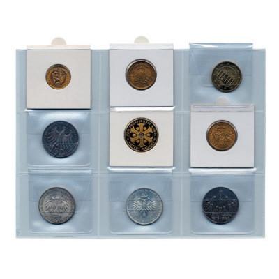 Folii pentru monede in cartonase foto