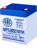 Acumulator stationar 12V 5.05Ah F1 AGM VRLA GBS