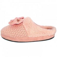 Papuci de casa dama din textil, din textil, marca s.Oliver, 5-27104-31-10-15, roze , marime: 40
