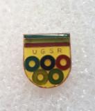 Insigna UGSR - Uniunea Generala a Sindicatelor din Romania
