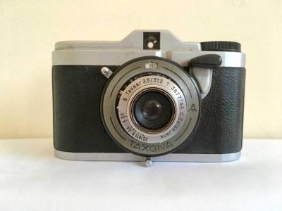 Aparat foto vintage Zeiss Ikon VEB Taxona, LOMO, pentru colectie, anii '50 foto
