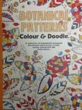 Adult colouring book. Botanical patterns. Colour & Doodle/***
