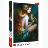 Cumpara ieftin Puzzle modern Femeia si Dragonii 1000 piese, model Premium
