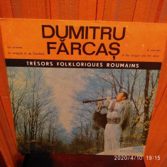 -Y- DUMITRU FARCAS   - DISC VINIL