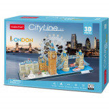 Cumpara ieftin Puzzle 3D - Londra, 107 Piese, CubicFun