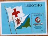 Cumpara ieftin LESOTHO-Cruce Rosie-Aviatie-Colita-MNH