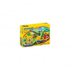 Playmobil 1.2.3 - Tren cu statie