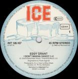 Eddy Grant - I Don't Wanna Dance (1982, Ice) disc vinil maxi-single