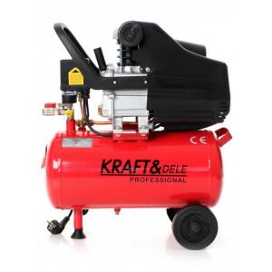 Compresor de aer industrial 24 litri, 2.8kW, 220V KraftDele KD400 TBC