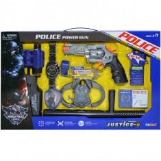 Set de joaca politist cu accesorii