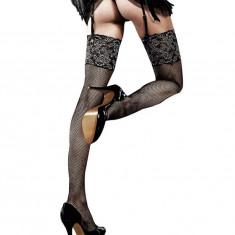 Ciorapi din plasa cu dantela stralucitoare
