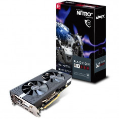 Placa video SAPPHIRE 11265-07-20G, RX 580 4GB GDDR5 NITRO +, Radeon, 2xHDMI, DVI-D, 2XDP, W/BP IN bulk