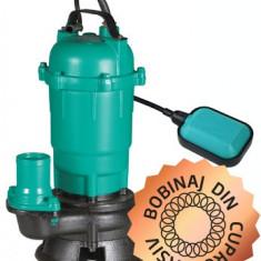 Pompa Apa Sumersibila - Apa Murdara WQD-550-F PRO 550W Bobinaj CUPRU