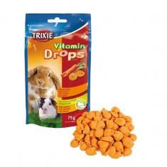 Drops de vitamine pentru rozătoare - morcov, 75 g