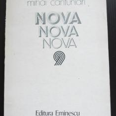 Mihai Cantuniari - Nova (cu dedicație/ autograf)