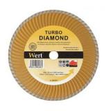 Cumpara ieftin Disc diamantat turbo, taiere beton, ceramica, caramida Wert W2712-180, O180x22.2 mm