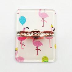 Suport tip inel pentru telefon mobil flamingo