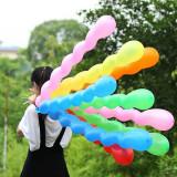Baloane spirala multicolore, culori mixte, set 8 bucati, petrecere