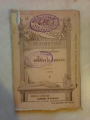 Doruri si amoruri - AL. DEPARATEANU , bpt 45 , partea II-a , 1896 foto