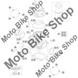 MBS O-ring chiuloasa 73,00X2,00 VITON KTM 250 EXC E-STARTER Europe 2010 #21, Cod Produs: 0770730020KT