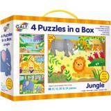 Set 4 Puzzle-uri Jungla, Galt