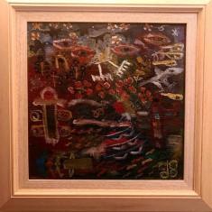 Totem - Ion Tuculescu, Abstract, Ulei, Altul