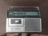 RADIO CASETOFON ITT TINY CASETTE , FUNCTIONEAZA RADIO PE FM SI MW