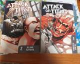 Manga attack on titan volumele 1 si 2