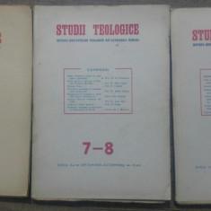 Studii teologice, revista institutelor teologice// 1949, nr 5-10