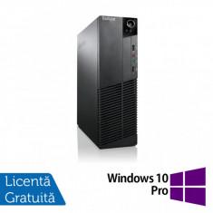 Calculator Lenovo ThinkCentre M83 SFF, Intel Core i7-4770 3.40GHz, 8GB DDR3, 240GB SSD, DVD-ROM + Windows 10 Pro