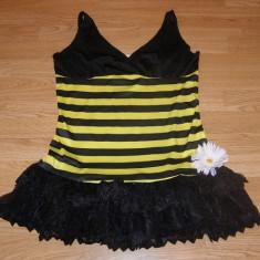 Costum carnaval serbare albina albinuta pentru adulti marime S-M, S/M, Din imagine