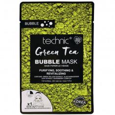 Masca purificatoare TECHNIC Green Tea Bubble Mask 20 g
