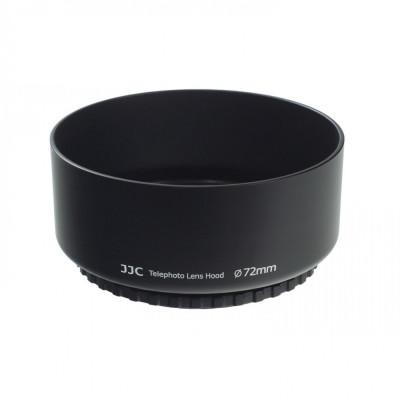 JJC LS-72T Parasolar pe filet 72mm pentru teleobiective foto