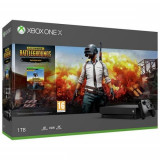 Consola MICROSOFT Xbox One X 1TB, negru + joc PLAYERUNKOWN'S BATTLEGROUNDS [PUBG] (cod download)
